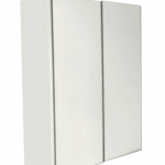 BELLA Pencil Edge Mirror Cabinet 2 Doors Gloss Finish