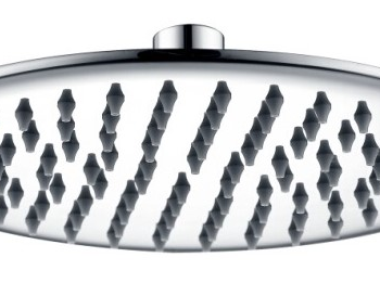 DOCCIA Mondo 200mm Brass Chrome Shower Head