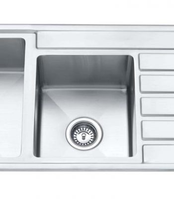 Impact counter top sink1 3/4 with drainer