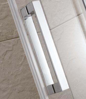 Semi-frameless Corner Sliding Shower Screen