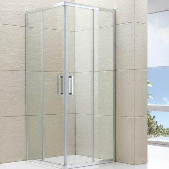 Semi-frameless Corner Sliding Shower Screen