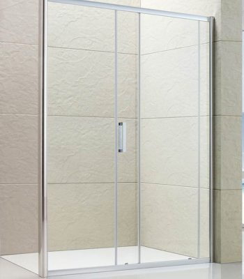 Semi-frameless Single Sliding Shower Screen