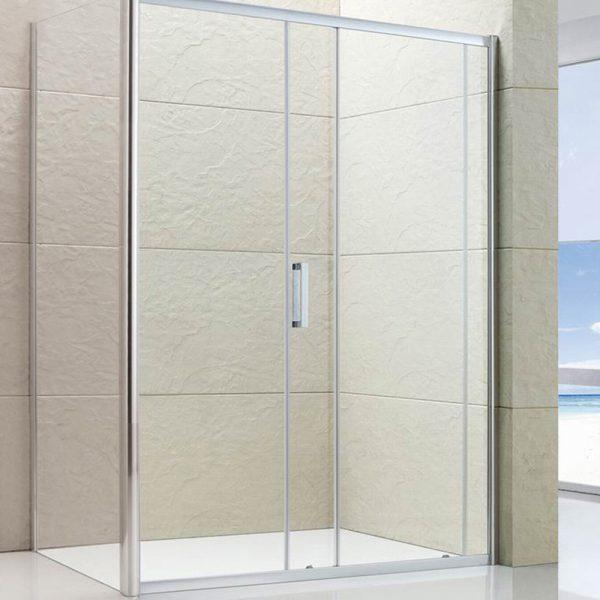 Semi-frameless Single Sliding Shower Screen