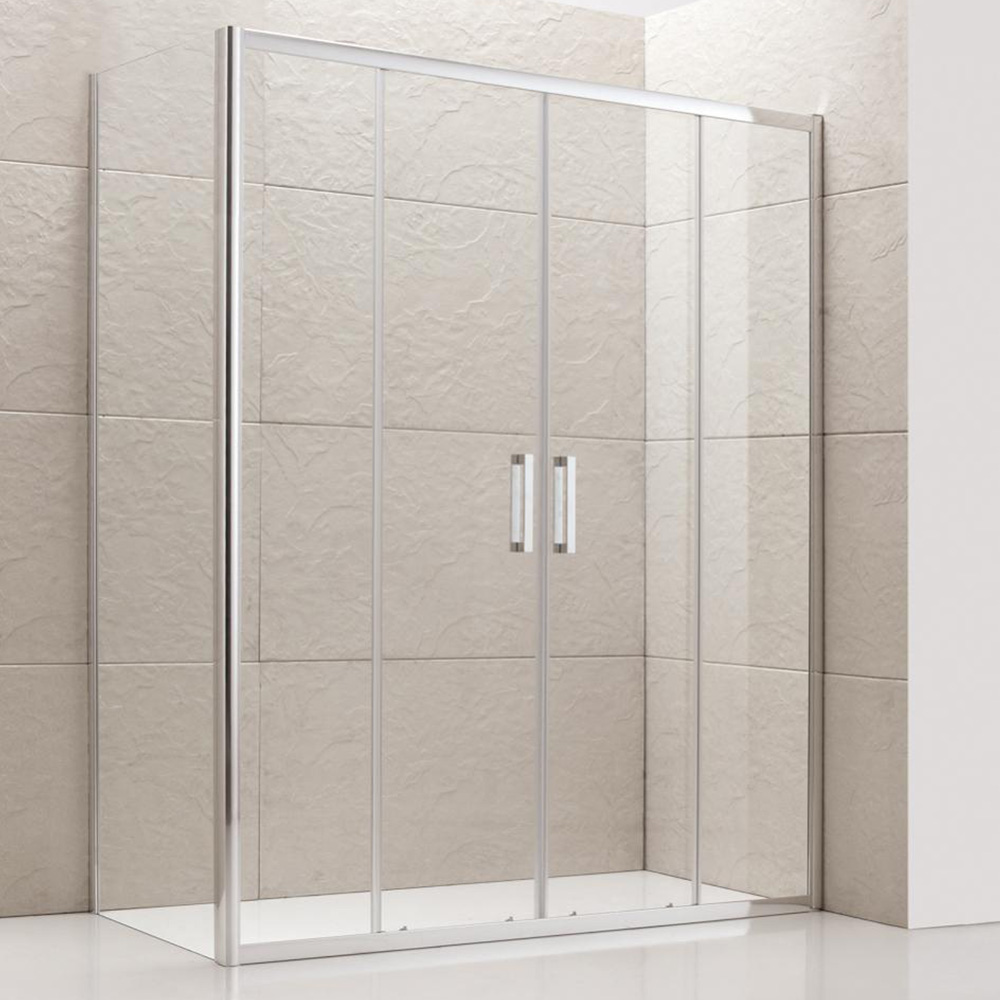 Semi-frameless Double Sliding Shower Screen