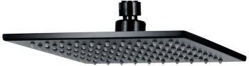 Curo Square Shower Head (matte black finish)