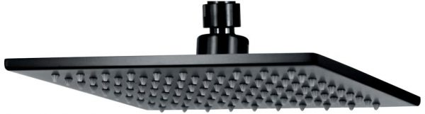 Curo Square Shower Head (matte black finish)