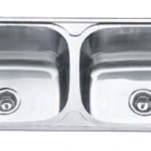 Lavassa Laundry Tub Double 45l
