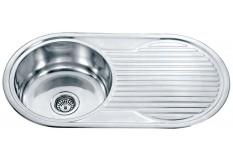 Dante single round bowl drainer