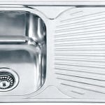 Dante single bowl with drainer