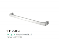 ACQUA Single Towel Rail