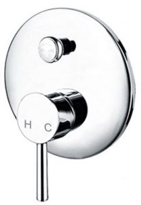 Rounder Wall Mounted Shower Mixer Tap