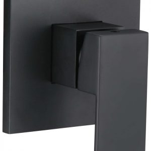 Curo Shower Mixer Matte Black