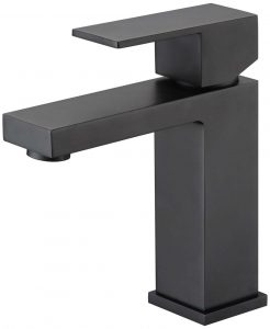 Curo Basin Mixer Matte Black