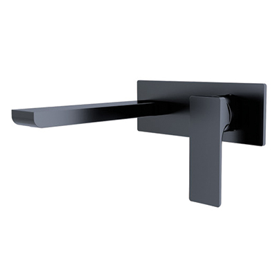 Astra Wall Mixer Matte Black