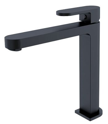 Ecco Tall Basin Mixer Matte Black