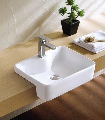 Semi-Recess Basin - K324B