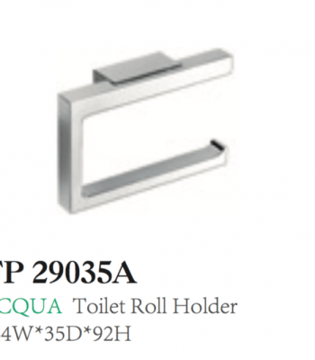 ACQUA Toilet Roll Holder