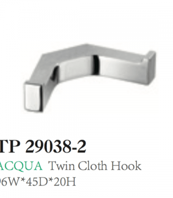 ACQUA Twin Robe Hook
