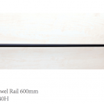 CURO Single Towel Rail - TP24036K