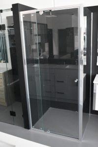 Semi-frameless Pivot Door Shower Screen